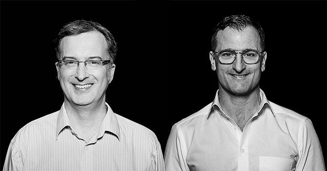 Christian Boehnel und Harald Picard - codecentric AG