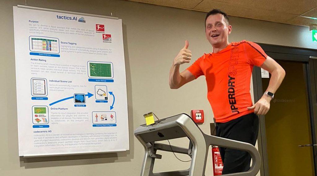 joggen für global challenge