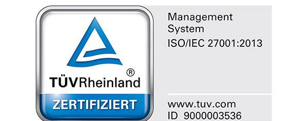 cc cloud ist TUEV-zertifiziert